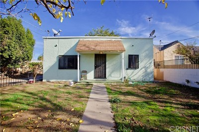 Pacoima Single Family Home Active Under Contract: 11000 Herrick Avenue
