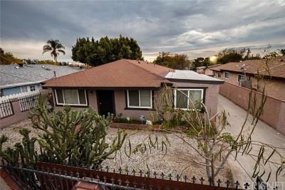 Sylmar Single Family Home For Sale: 13066 Foothill Boulevard