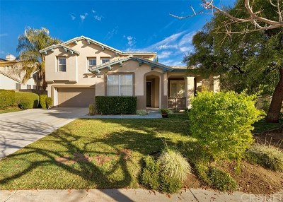 Saugus Single Family Home For Sale: 28886 Rock Canyon Drive