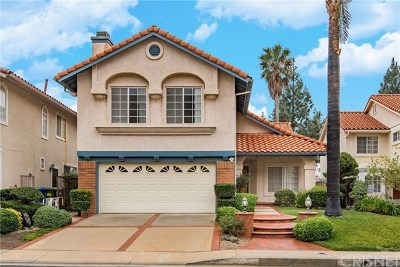 Porter Ranch CA Single Family Home For Sale: $849,900