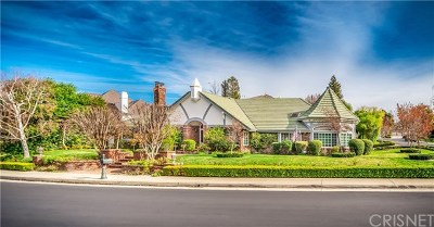 Brentwood, Calabasas, West Hills, Woodland Hills Single Family Home For Sale: 4742 Westchester Drive