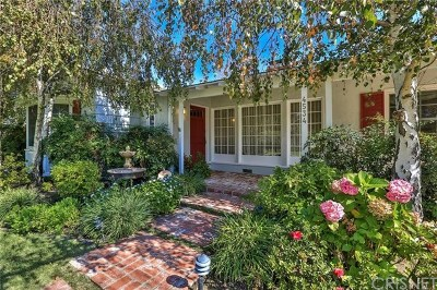 Studio City Single Family Home For Sale: 4534 Radford Avenue