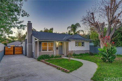 Valley Glen Single Family Home For Sale: 5937 Ranchito Avenue