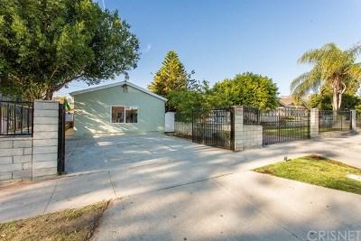 San Fernando Single Family Home For Sale: 439 N Alexander Street