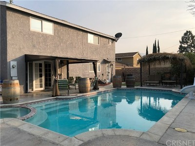 Canyon Country Single Family Home For Sale: 27855 Lost Springs Road