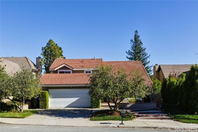 Agoura Hills Single Family Home For Sale: 29167 Quail Run Drive