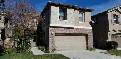 Saugus Single Family Home For Sale: 20027 Holly Drive