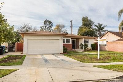 North Hills Single Family Home For Sale: 10045 Gaviota Avenue