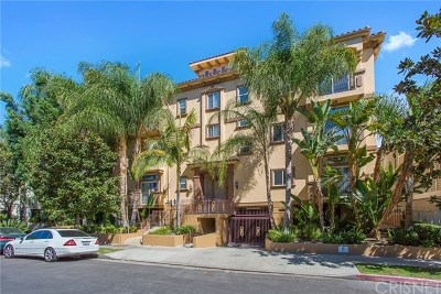 Sherman Oaks Condo/Townhouse For Sale: 4612 Vista Del Monte Avenue #7