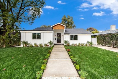 Sherman Oaks Single Family Home For Sale: 14035 Hartsook Street