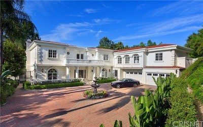 Brentwood, Calabasas, West Hills, Woodland Hills Single Family Home For Sale: 3916 Park Antonio