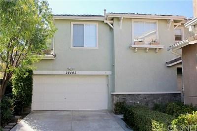 Valencia Single Family Home For Sale: 28469 Meadowlark Court