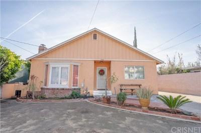 San Fernando Single Family Home For Sale: 2042 8th Street