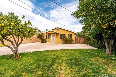 Sun Valley Single Family Home For Sale: 11137 Cantara Street