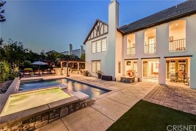 Brentwood, Calabasas, West Hills, Woodland Hills Single Family Home For Sale: 3905 Prado De Las Frutas