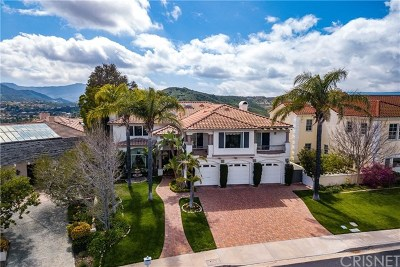 Brentwood, Calabasas, West Hills, Woodland Hills Single Family Home For Sale: 24754 Cordillera Drive