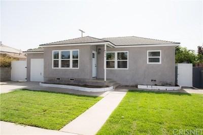 Panorama City Single Family Home For Sale: 8079 Katherine Avenue
