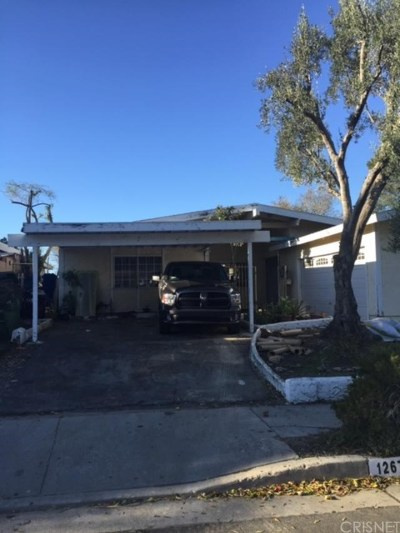 Pacoima Single Family Home For Sale: 12677 Gain Street