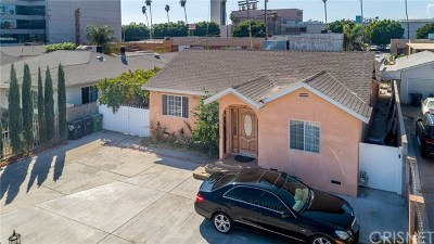 North Hollywood Single Family Home For Sale: 6439 Agnes Avenue