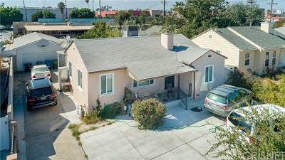 North Hollywood Single Family Home For Sale: 6443 Agnes Avenue