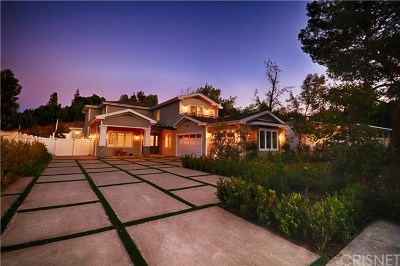 Tarzana Single Family Home Active Under Contract: 5646 Melvin