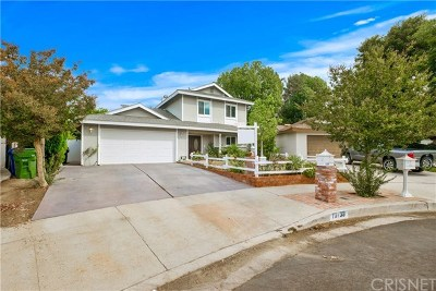 Chatsworth Single Family Home For Sale: 10138 Milwood Avenue