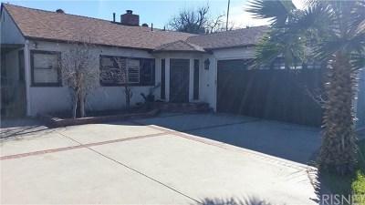 Sherman Oaks Single Family Home For Sale: 4548 Stern Avenue