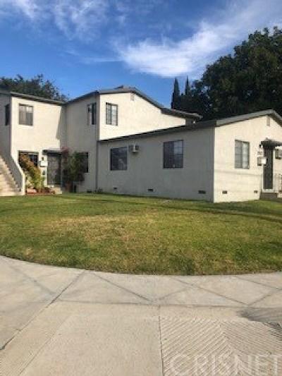 Burbank Multi Family Home For Sale: 200 N Cordova