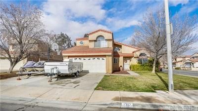 Lancaster, Palmdale, Quartz Hill Single Family Home For Sale: 1317 Langhorn Street
