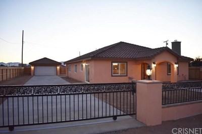 California City Single Family Home For Sale: 20025 Hacienda Boulevard