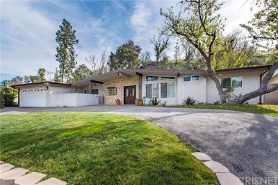 Brentwood, Calabasas, West Hills, Woodland Hills Single Family Home For Sale: 22230 Tiara Street
