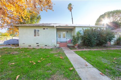 Reseda Single Family Home For Sale: 19106 Cantara Street