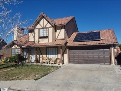 Palmdale Single Family Home For Sale: 37326 Hampshire Street
