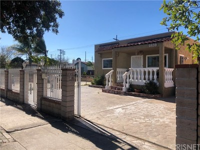 North Hollywood Single Family Home For Sale: 5639 Craner Avenue