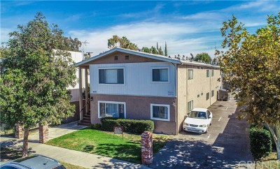 North Hollywood Multi Family Home For Sale: 6050 Coldwater Canyon Avenue