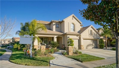 Stevenson Ranch Single Family Home For Sale: 25336 Dove Lane
