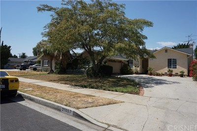 Canoga Park Single Family Home For Sale: 21007 Ingomar Street