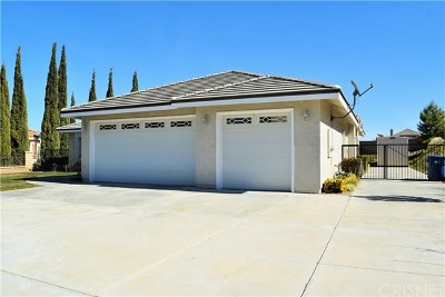 Palmdale Single Family Home For Sale: 41510 67th Street W