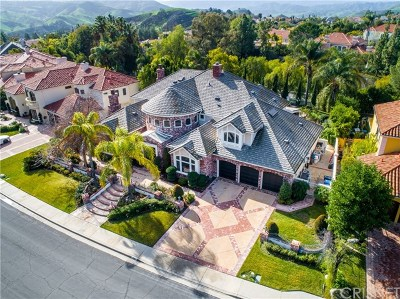 Brentwood, Calabasas, West Hills, Woodland Hills Single Family Home For Sale: 5441 Newcastle Lane