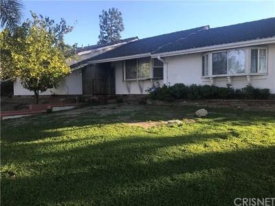 Single Family Home For Sale: 11100 Reseda Boulevard