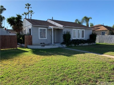 Single Family Home For Sale: 175 Cabrillo Street