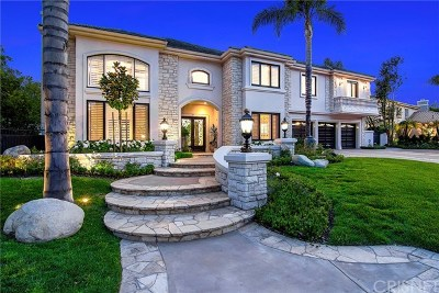Brentwood, Calabasas, West Hills, Woodland Hills Single Family Home For Sale: 25860 Chalmers Place