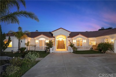 Canyon Country Single Family Home For Sale: 16540 Sultus Street