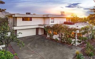 Studio City Single Family Home For Sale: 11528 Dona Evita Drive