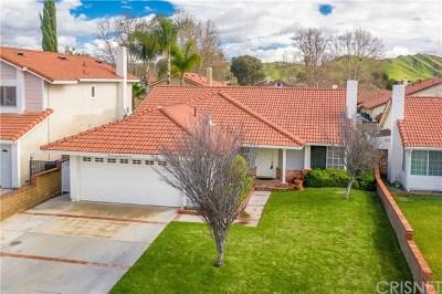 Castaic Single Family Home Active Under Contract: 27946 Beacon Street