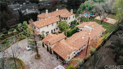 Brentwood, Calabasas, West Hills, Woodland Hills Single Family Home For Sale: 23500 Collins Street