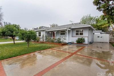 Lake Balboa Single Family Home For Sale: 7313 Rubio Avenue