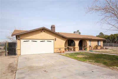 Littlerock Single Family Home For Sale: 9055 E Avenue T8