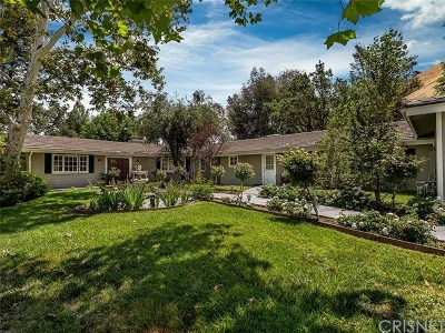 Hidden Hills Single Family Home For Sale: 5636 Round Meadow Road