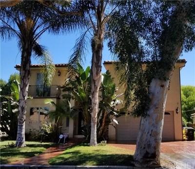Sherman Oaks Single Family Home For Sale: 4620 Morse Avenue